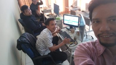 """Photo of lastday online exa for xii grade of SMK PPN Tanjungsari during """"physical distancing policy"""""""