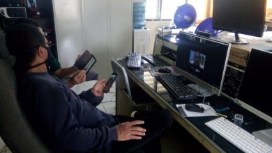 """Photo of """"video conference"""" Kepala Sekolah dengan Kementrian Pertanian"""
