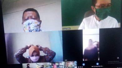 Photo of Rapat Kelulusan Online kelas XII 29/04/2020 dengan menggunakan aplikasi teamlink