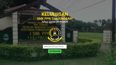 Photo of Pengumuman Kelulusan secara online di SMK PPN Tanjungsari 15.30 WIB …… silahkan klik disini dan baca selengkapnya